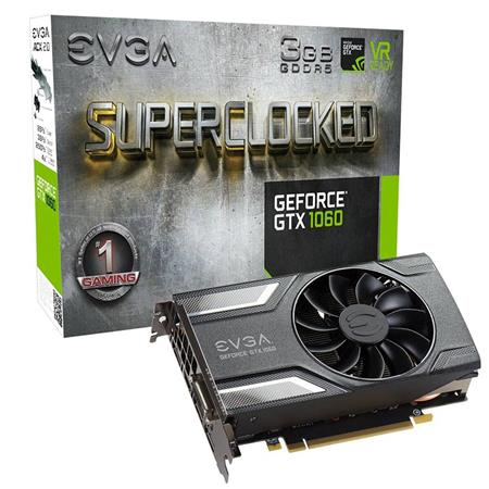 Placa de Video GTX 1060 SC GAMING, 3GB GDDR5