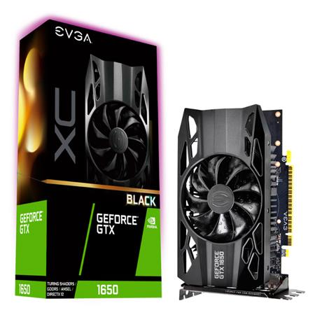 VGA EVGA GEFORCE GTX1650 XC BLACK GAMING 4GB GDDR5