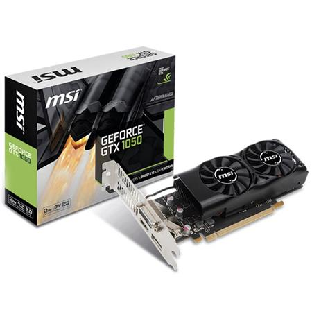 Placa de Video MSI GTX1050 2GT LP - 912V8092414
