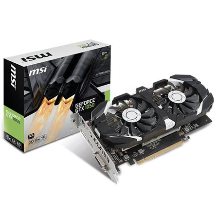 Placa de Video MSI GTX1050 2GT OC- 912V8092286