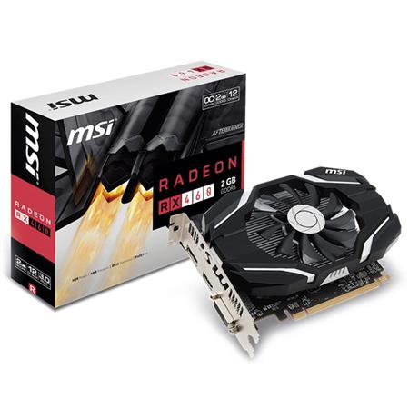 Placa de Video MSI Radeon RX 460 2G OC DDR5