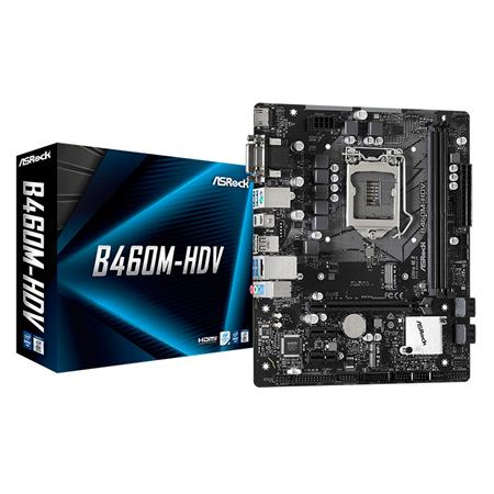 Mother ASRock B460M-HDV INTEL LGA1200 10ma. Gen