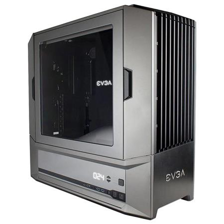 Gabinete EVGA DG-87 Full Tower, K-Boost, Hard Fan Ctrl, w/Window, Gaming Case