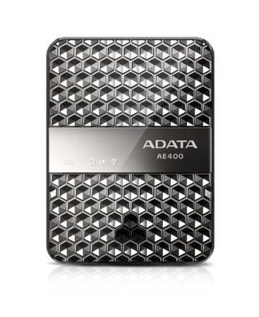 Power Bank WiFi Reader Adata AAE400-CBKSV