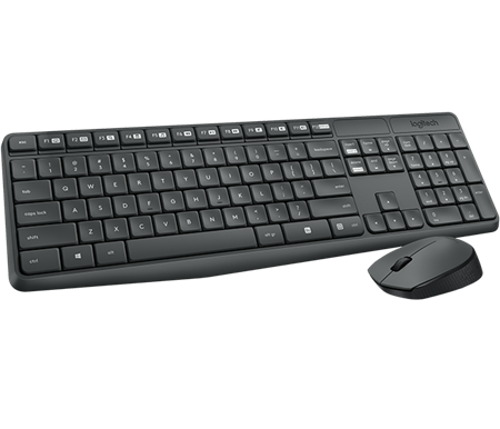 Teclado + Mouse LOGITECH MK235 Wireless